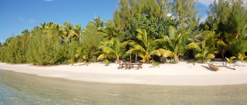 matriki beach huts aitutaki cook islands